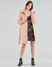 Clothing Women Coats Vero Moda VMCALALYON HOOD 3/4 JACKET GA Pink