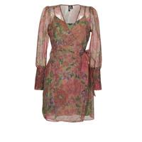 Clothing Women Short Dresses Vero Moda VMABELIA Green / Red