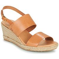 Shoes Women Sandals Dream in Green OLEM Tan