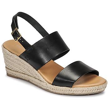 Shoes Women Sandals Dream in Green OLEM Black