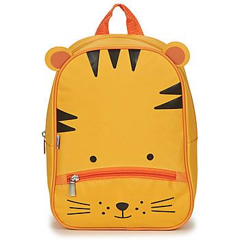 Bags Children Rucksacks Citrouille et Compagnie TIGER YELLOW Orange / Yellow