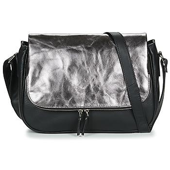 Bags Women Shoulder bags Betty London EZIGALE Black / Silver