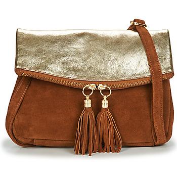 Bags Women Shoulder bags Betty London OOSTI Cognac / Gold