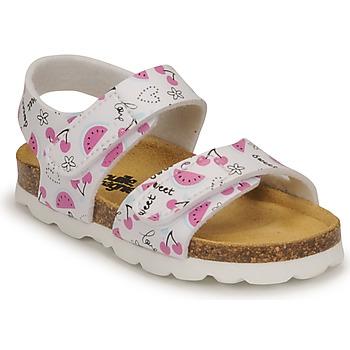 Shoes Girl Sandals Citrouille et Compagnie BELLI JOE Printed / Fruit