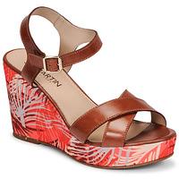 Shoes Women Sandals JB Martin OCELIA Brown