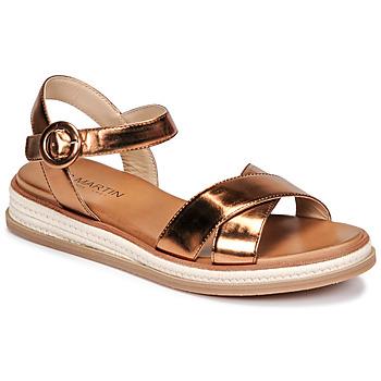 Shoes Women Sandals JB Martin JENS Coppery