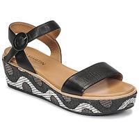 Shoes Women Sandals JB Martin CAT Black