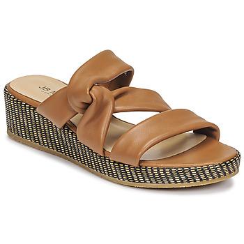 Shoes Women Sandals JB Martin JAM Tan