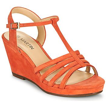 Shoes Women Sandals JB Martin QUIRA Papaye