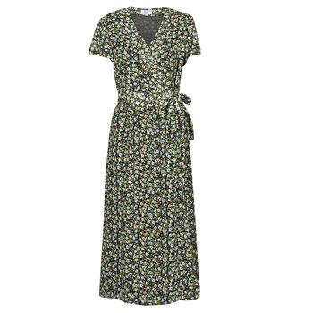 Clothing Women Long Dresses Betty London OMADAM Black / Multicolour