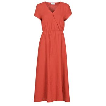Clothing Women Long Dresses Betty London ODAME Terracotta
