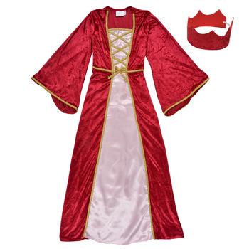 Clothing Girl Fancy Dress Fun Costumes COSTUME ENFANT REINE DE LA RENAISSANCE Multicolour