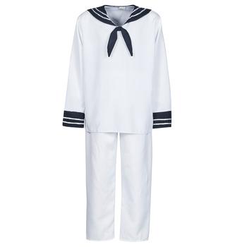 Clothing Men Fancy Dress Fun Costumes COSTUME ADULTE MARIN BLANC White