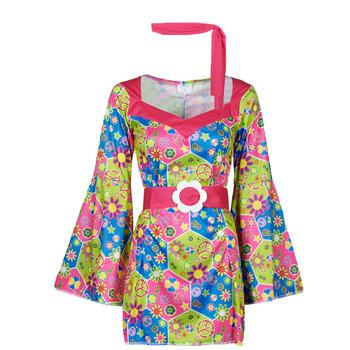 Clothing Women Fancy Dress Fun Costumes COSTUME ADULTE SWEET MEADOW Multicolour