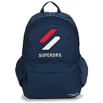 Bags Rucksacks Superdry SPORT STYLE MONTANA Blue