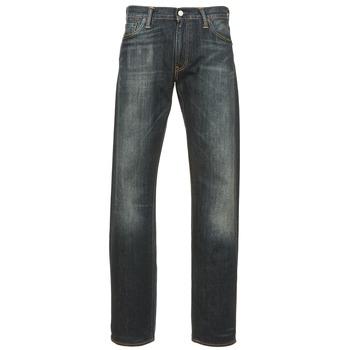 Clothing Men straight jeans Levi's 504 REGULAR STRAIGHT FIT Blue / Dark