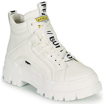 Shoes Women Mid boots Buffalo ASPHA NC MID White