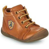 Shoes Boy Hi top trainers GBB EDWIN Brown