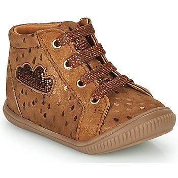 Shoes Girl Hi top trainers GBB MASHA Brown