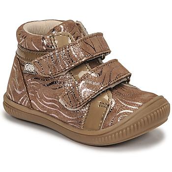Shoes Girl Hi top trainers GBB EDEA Beige
