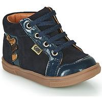 Shoes Girl Hi top trainers GBB TERRA Blue