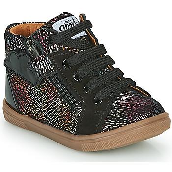 Shoes Girl Hi top trainers GBB VALA Black