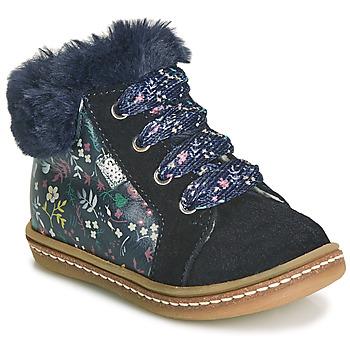 Shoes Girl Hi top trainers GBB JUNA Blue