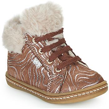 Shoes Girl Hi top trainers GBB JUNA Beige