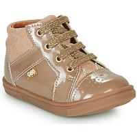 Shoes Girl Hi top trainers GBB THEANA Beige