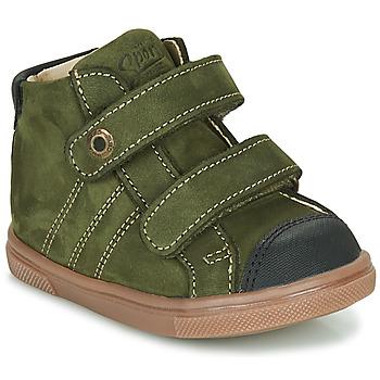 Shoes Boy Hi top trainers GBB KERWAN Green