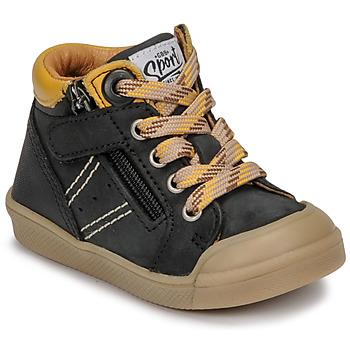Shoes Boy Hi top trainers GBB ANATOLE Black