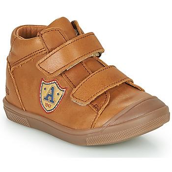 Shoes Boy Hi top trainers GBB LAUREL Brown