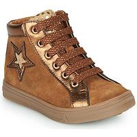 Shoes Girl Hi top trainers GBB TADEA Brown