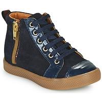 Shoes Girl Hi top trainers GBB SAVIA Blue