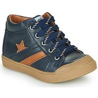Shoes Boy Hi top trainers GBB LEON Blue