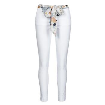Clothing Women 5-pocket trousers Betty London OUMA White