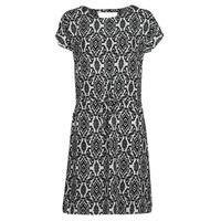 Clothing Women Short Dresses Only ONLNOVA White / Black