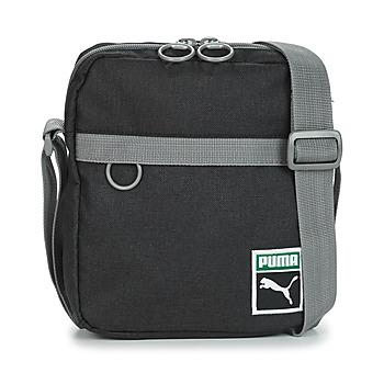 Bags Men Pouches / Clutches Puma ORIGINAL PORTABL RETRO.BLK Black / Grey