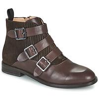 Shoes Women Ankle boots JB Martin XALON White / yellow / grey