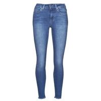 Clothing Women Slim jeans Only ONLBLUSH Blue / Medium