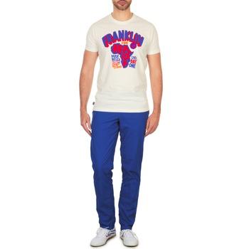 Clothing Men chinos Franklin & Marshall GLADSTONE Blue