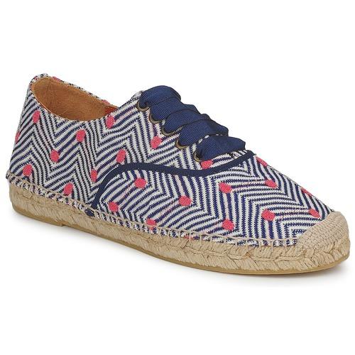 Shoes Women Espadrilles Missoni VM045 Blue / Pink