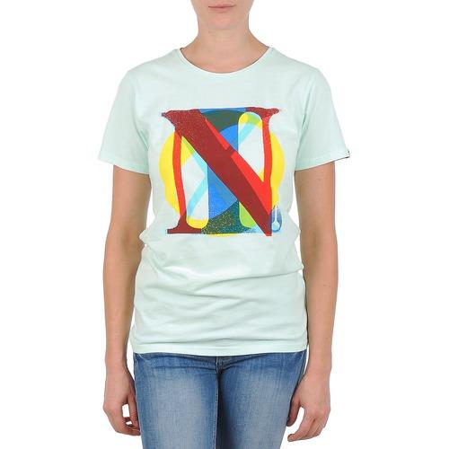 Clothing Women Short-sleeved t-shirts Nixon PACIFIC Green