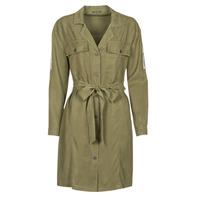 Clothing Women Short Dresses Ikks BS30055 Kaki
