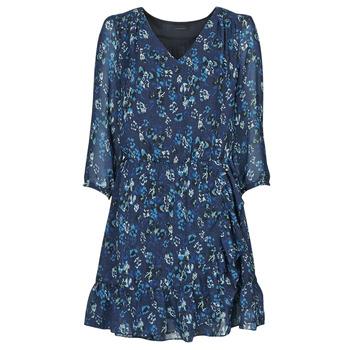 Clothing Women Short Dresses Ikks BS30055 Marine