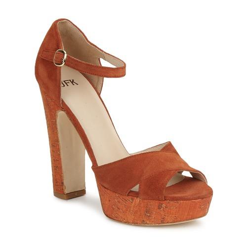 Shoes Women Sandals JFK  Orange