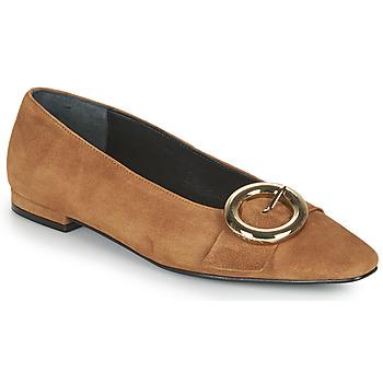 Shoes Women Flat shoes JB Martin SAVOIR Brown