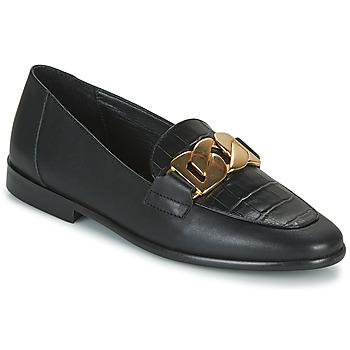 Shoes Women Loafers JB Martin CAPTIVE Black