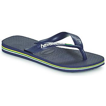 Shoes Children Flip flops Havaianas BRASIL LOGO Blue