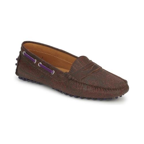 Shoes Women Loafers Etro MOCASSIN 3706 Purple